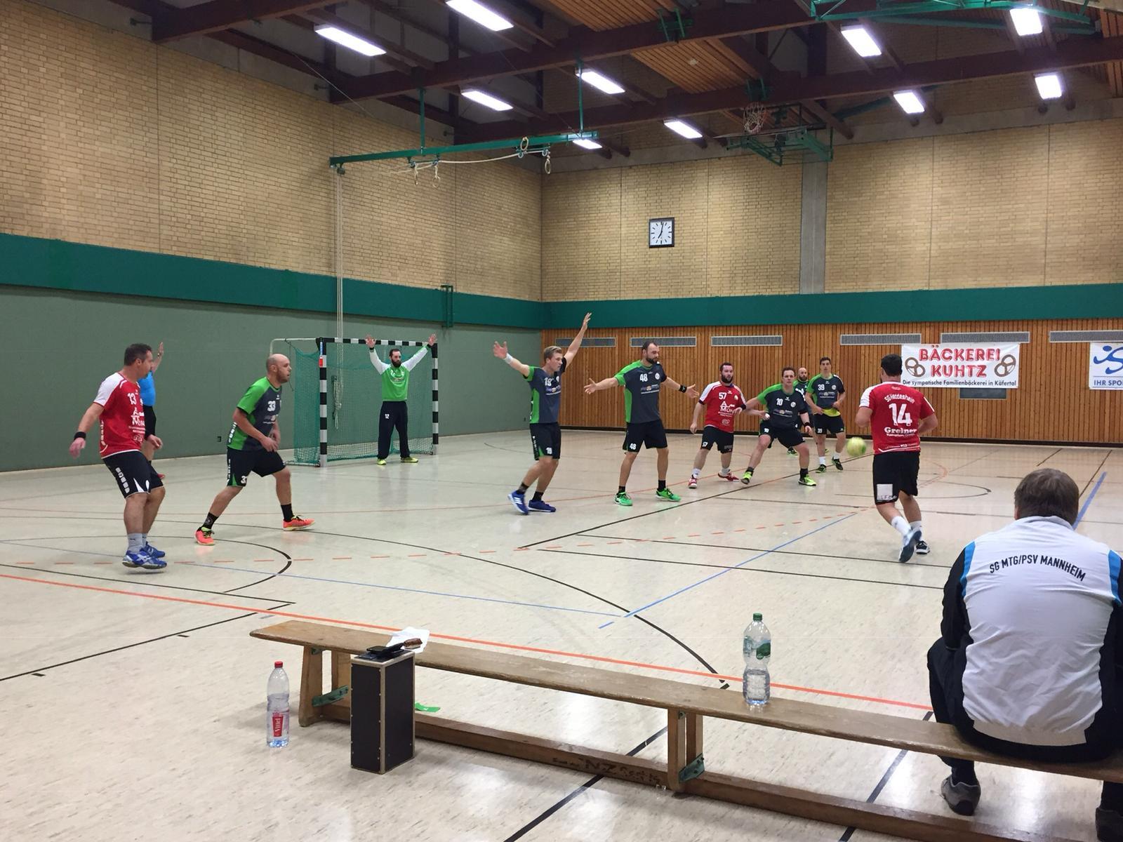 H1: Reingekämpft und gewonnen – SG 1 verteidigt weiße Heimspielweste gegen Heddesheim 2